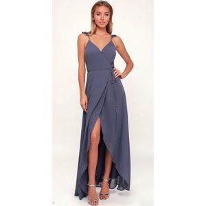 💕High-Low Wrap Dress from Lulu's